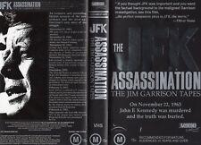 THE JFK ASSASSINATION-JIM GARRISON VHS-PAL-NEW-Never played!-Original Oz release