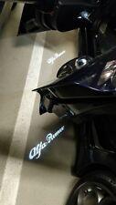 NEW 2pz Led porta con logo Alfa Romeo Giulia Stelvio Giulietta Mito Plug & Play