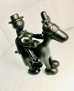 RARE Tom Otterness Statuette * Masked Horse & Rider * ORIGINAL BOX * Mint