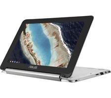"ASUS Chromebook Flip C101p 10.1"" Laptop 16gb eMMC 4gb RAM Silver Touchscreen"
