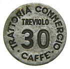 [NC] GETTONE TREVIOLO TRATTORIA COMMERCIO CAFFE' VALORE 30 (nc2633)