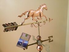 Good Directions Copper Galloping Horse Weathervane -w/Roof Mount 1974P