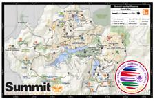 24th 2019 World Scout Jamboree Postcard SBR MAP CARD