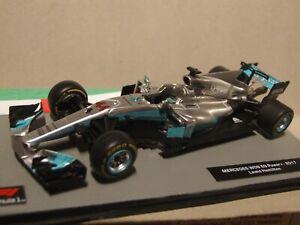 2017 F1 Lewis Hamilton  Mercedes W08 1:43 Scale