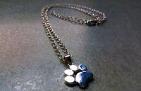 lot 10 Colliers pendentif femme patte chien bijoux chaine palette revendeur neuf