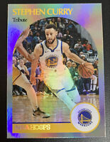 STEPH CURRY 2021 NBA Hoops SILVER HOLO SP Tribute PSA 9/10?