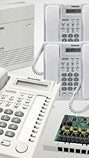 Panasonic Small Office Bundle KX-T7730 8 Phones White and KX-T824