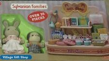 Sylvanian Family Rabbit & Dog Village Gift Shop play set ~ Rare