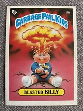 "1985 Garbage Pail Kids ""U.K. Mini"" Blasted Billy #8b"