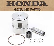 New Genuine Honda Piston Kit Set Rings Pin Clips 00-02 CR125R Top End #O107