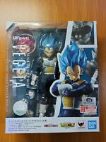 Authentic Bandai S.H. Figuarts Dragon Ball Z Super Saiyan Blue SSGSS Vegeta God