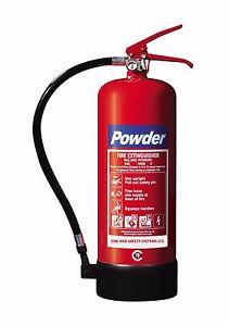 6 KG ABC POWDER FIRE EXTINGUISHER - COMMERCIAL WAREHOUSE  TRUCKS