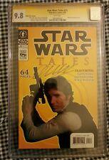 CGC SS 9.8 Star Wars Tales 11 Harrison Ford photo cover variant Garth Ennis sig