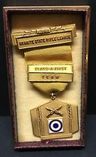 [66190] 1941 GRANITE STATE RIFLE LEAGUE (NH) CLASS-A FIRST TEAM AWARD