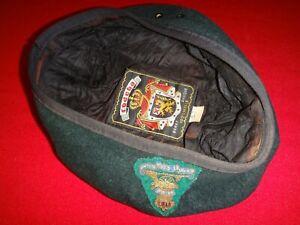 Kanadische Armee Grün Barett mit Original Label, Für Klein Kopf Größe 7 Oder