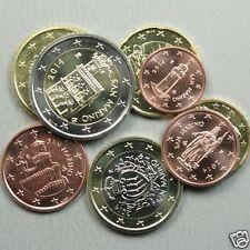 manueduc   SAN MARINO Las 8 monedas  Años Mixtos  NUEVAS