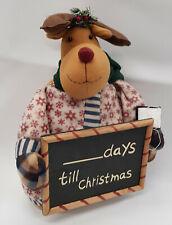 Chrismas Countdown Reindeer Decorataion