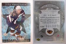 2007-08 UD Artifacts #132 Ilya Kovalchuk 1/1 platinum 1 of 1 gold rainbow RARE