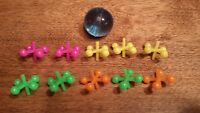 24 Sets of Metal Jacks and Ball Birthday Party Give-A-Way Kid Classic Game