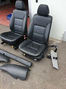 Sitzgarnitur Ledersitze Sitze Sitz  BMW E61 E60 kombi schwarz