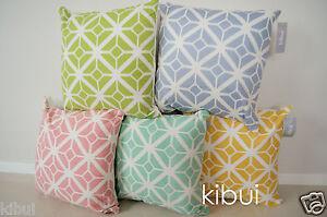 Diamond Cushion Cover Throw Decor Pillow Case 100% Cotton 45cm Kibui 130+ SOLD!!