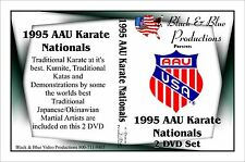 1995 AAU Karate Tournament 2 DVD Set