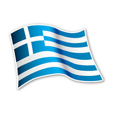 Griechenland Flagge Greece Autoaufkleber Sticker Fahne Aufkleber DRU 0067