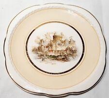 Vintage Swinnerton's Majestic Vellum Windsor Castle View Small Plate c1946-52