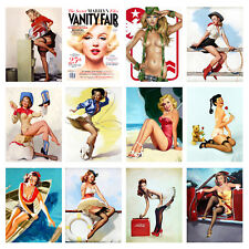 Funny, Retro Metal Signs/Plaques, Cool Novelty Gift, Pin Ups 6