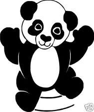 Panda Bear Vinyl Stickers / Decals