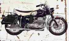 MotoGuzzi V850 California 1972 Aged Vintage SIGN A3 LARGE Retro
