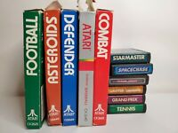 Atari 2600 Video Game Lot of 11 Some Complete Boxes & Manuals