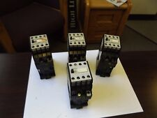WHOLESALE LIQUIDATION SIEMENS LOT OF 4 (3) 3TH80 95-OB (1) 3TH4031-OB 24V