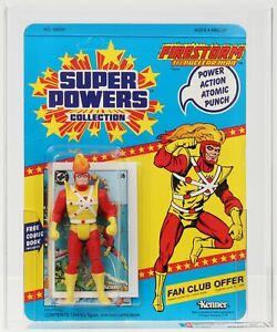 Super Powers 1985 Vintage Kenner Series 2/23 Back Firestorm MOC AFA 80
