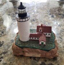 "Bass Harbor 1858 5"" Lighthouse Ceramic"