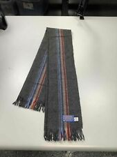 Mens Pendleton 100% Virgin Wool Scarf Made In USA