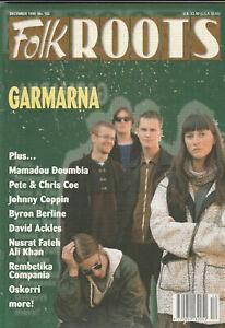FOLK ROOTS Magazine December 1996 - Cheik Lo (Issue 162)