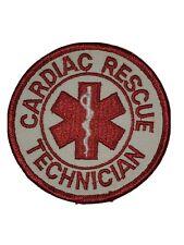 Cardiac Rescue Technician Patch