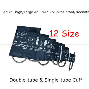 Neonatal/Infant/Child/Adult/Blood Pressure Cuff for Patient Monitor 12 Size