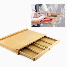 Portable Art Drawer Table Top vintage Wood Case Drawing Easel Set Artist