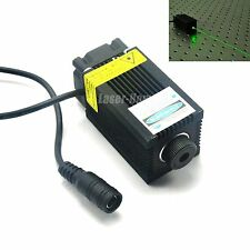 532nm 100mW 12V Green laser Dot Diode Module w/ fan cooling for carving & Game