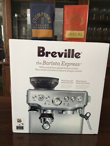 Breville Barista Express BES870XL -Stainless Steel + 2/pk Stumptown Coffee Beans