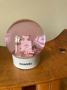 Chanel Pink Snow Globe VIP Gift