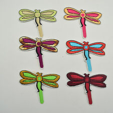 30pcs Dragonfly Embroidery Iron On Applique Patches for DIY craft sewing