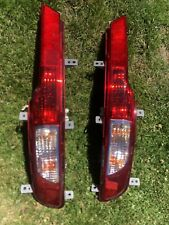 Kia Sportage 10-15 Rear Bumper Reverse Lights Lamps Set Pair Driver Passenger