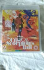 THE CASE OF THE SCOPRION'S TAIL   BLU-RAY  SERGIO MARTINO NEW & SEALED
