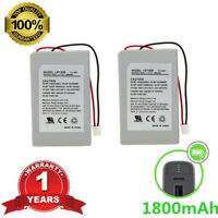 2 Pack 3.7v 1800mAh Replacement Battery For Sony Playstation 3 PS3 Controller