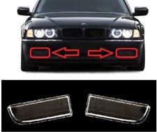 Fog Light Lenses Driving Lamp Glass PAIR fits 1995-2001 BMW 7-Series E38 Petrol