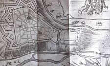 Ville de LIMBOURG HARREWYN GRAVURE originale DELICES des PAYS BAS 1711