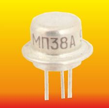 MP38A LOT=5 RUSSIAN Ge NPN TRANSISTOR 0.15W 0.02A ~ 107NU70,155NU70,2SD195,GC527